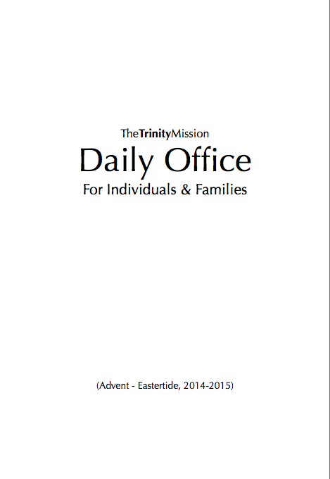 a link to the daily office prayerbook for morning, mid-day, and evening prayer
